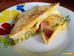 Crostini di mozzarella