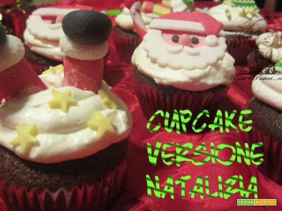 CupCake versione natalizia