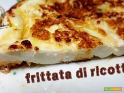 Frittata di ricotta, ricetta siciliana