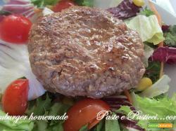 Hamburger homemade