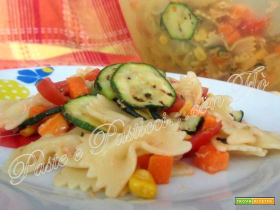 Insalata di pasta fredda light