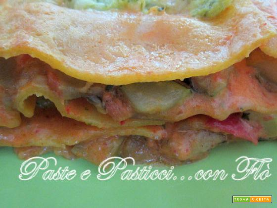 Lasagna vegetariana... una valida alternativa