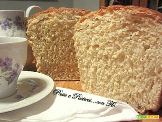 Pan brioche con pasta madre.