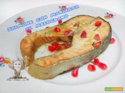 Salmone marinato al melograno