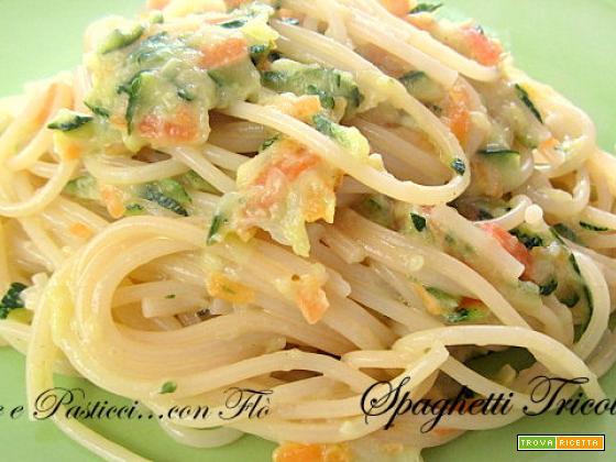 Spaghetti tricolore |Paste e Pasticci...con Flò