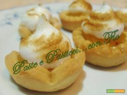 Tartellette al lemon curd e meringa
