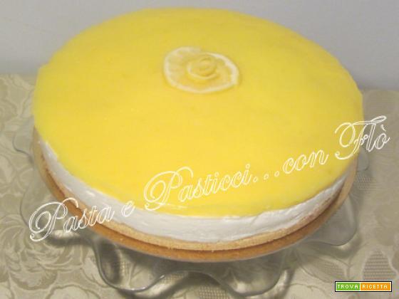 Torta fredda al lemon curd
