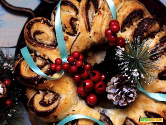 Chocolate rolls: girelle di sfoglia alla Nutella,cannella e nocciole