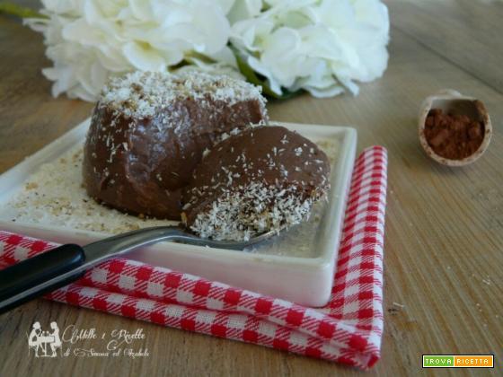 Budino Cocco e Nutella