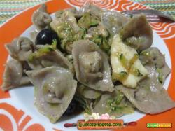 Cappelletti senza glutine spinarolo zucchine