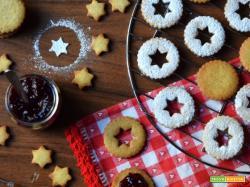 Biscotti linzer: aspettando il Natale (1)