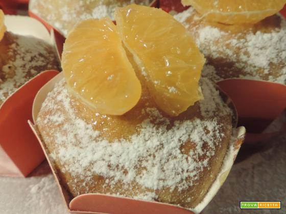 Muffin yogurt e arancia candita (senza burro)