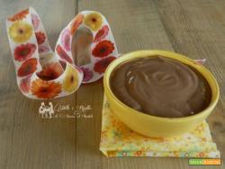 Crema al cacao, senza uova, ottima per farcire torte e bignè