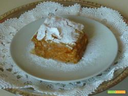 Torta dolce di zucca in pasta fillo