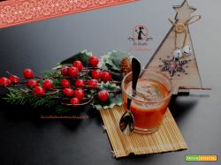 Budino di peperone arrosto con salsa bagna cauda, il mio antipasto di Natale