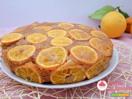 Torta di arance con il bimby