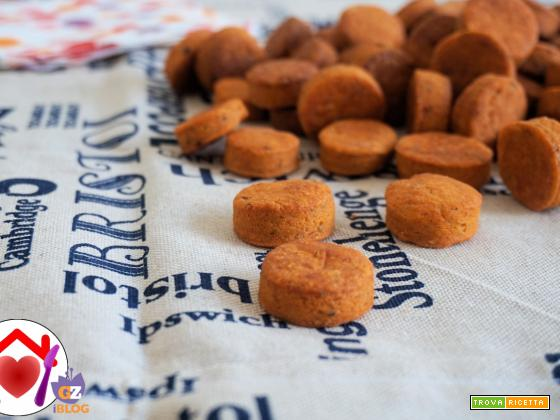 Biscotti salati alla paprika