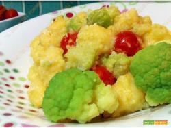 Gnocchi di patate con crema di broccolo romano