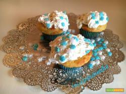 Cupcake natalizi allo yogurt e miele senza burro