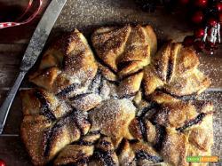 Stella di pan brioche alla Nutella – versione veloce