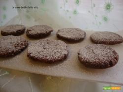 Biscotti con crema di nocciole cotti in padella