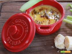 Creme Brulée salata con parmigiano e finocchi: una variante da non sottovalutare