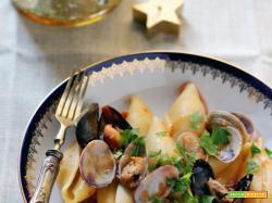 Conchiglioni ai frutti di mare – ricetta tipica napoletana
