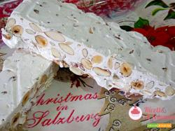 Torrone bianco con bimby con nocciole e mandorle