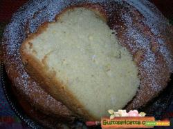 Chiffon cake al fragolino