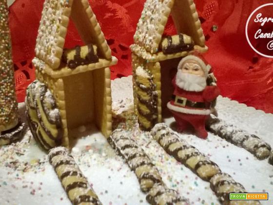 Casetta Di Natale Con Biscotti : Casetta natale biscotti ricetta trovaricetta.com