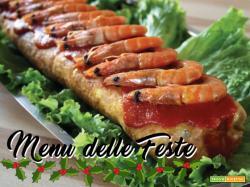 IL MENU DELLE FESTE:  Rocambole de camarão (Rotolo di gamberetti)
