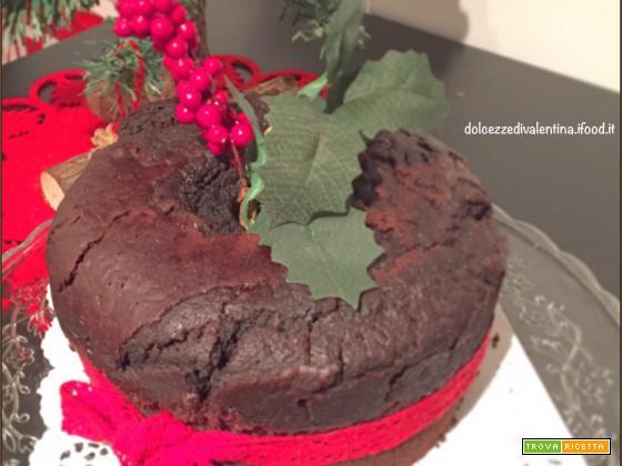 Fluffosa vegana al cioccolato