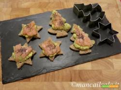Tartinetta salmone e avocado