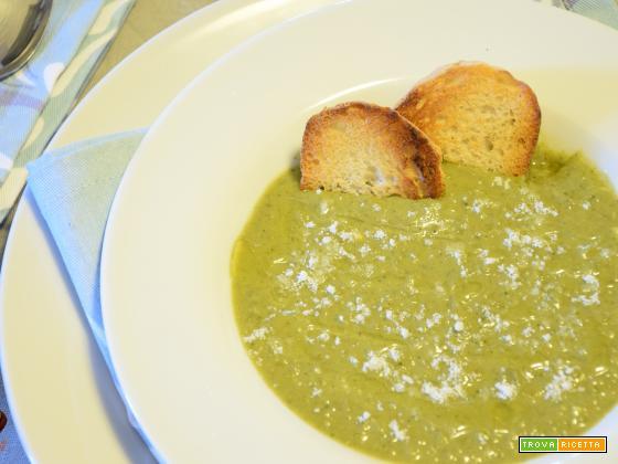 Vellutata verde super cremosa
