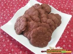 Biscotti cacao sparabiscotti frolla montata