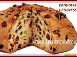 Pandolce genovese – ricetta ligure senza lattosio