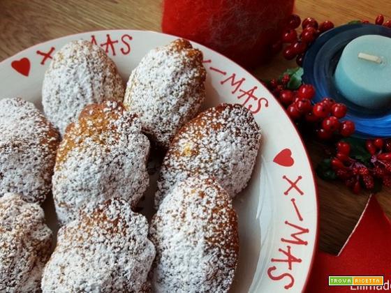 Madeleines di Natale: la ricetta con cannella, zenzero e cardamomo