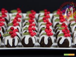 Pudding Bon Bon Natalizi di panettone e spezie