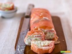 Rotolo di salmone affumicato
