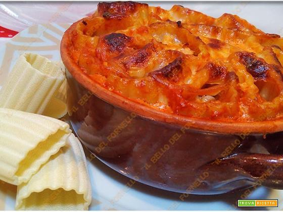 Pasta al forno ripiena appetitosa