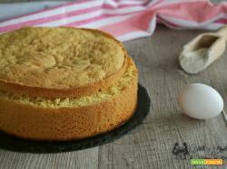 Pan di spagna alto e soffice, solo 3 ingredienti