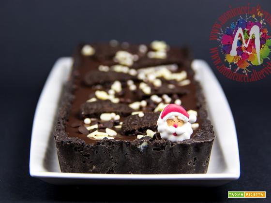 No Bake Dark Chocolate Oreo Tart