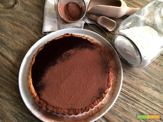 Crostata cioccolato fondente e rum … un dolcetto sfizioso!