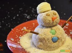 Pupazzo di neve di pandoro