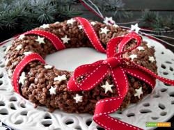 Corona croccante al cioccolato
