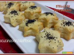 Stelle di Parmigiano senza lattosio
