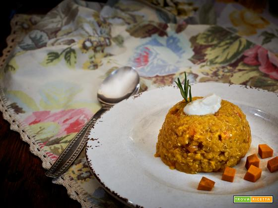 lenticchie e quinoa della fortuna