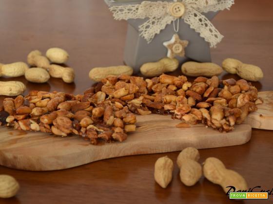 Croccante di arachidi – dolce di Natale