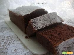 Plumcake cioccolatoso alla panna