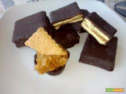Biscotti al caramello mou